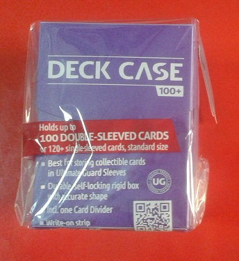 Ultimate Guard - Deck Case Violeta 100+